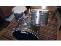 Natal Arcadia Birch drum kit for sale