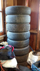 195/70/14 Tires with Rims 5x114.3