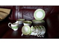 "Antique tea set - ""Ye Olde English"", Grosvenor China, by Jackson & Gosling"