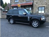 RANGE ROVER VOGUE TDV8 2007 WITH FACTORY EXTRAS.