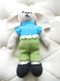 New Hand Knitted Rabbit
