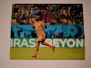 Didier Drogba Signed 11x14 photo Montreal Impact,  autograph