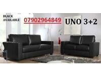 **SALE** 3+2 Italian leather sofa brand new black or brown