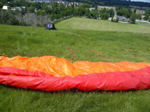Paraglider for sale (Apco wing, rated for 230lbs)