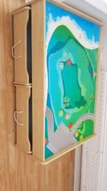 play table with two storage draws 125 cm x 85cm