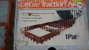 DELUXE TRACTION AIDS