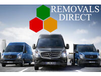 REMOVALS DIRECT Always Available for Short-Notice Man and Van Hire CALL NOW!!