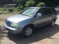 2003 LEXUS RX300 SE AUTO BI FUEL LPG/PETROL FULLY LOADED