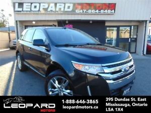 2011 Ford Edge Limited,Navigation,Camera,Chrome Rims*No Accident