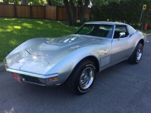 1972 Chevrolet Corvette Stingray  comme neuf.impeccable