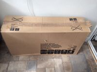 Stainless steel cooker hood brand new REDUCED