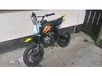 125cc pitbike For sale r swap