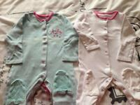 9-12 Month Sleepsuits