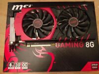 MSI R9 390X 8GB Graphics Card