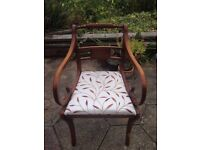 3 Antique Carver Chairs