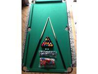 Kids Debut Snooker/Pool Table