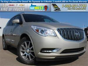 2015 Buick Enclave Leather Local | One Owner | PST Paid