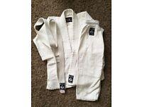 White Judogi Judo suit 110cm