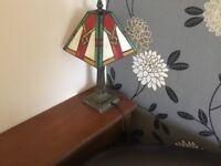 Pair of small Tiffany lamps