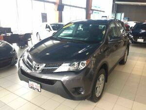 2014 Toyota RAV4 LE AWD! 6-Speed Automatic!