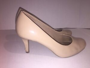 Nude Heels from Comfort Plus Size 7W