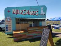 Mobile deserts parlour catering trailer