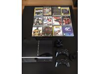Playstation 3 + games + 2 controllers