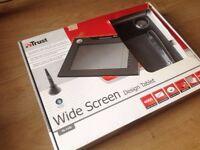 Trust TB-7300 Widescreen Design Tablet. NEW