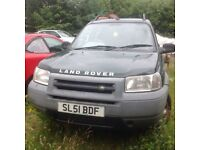 LANDROVER MOT JAN 18. SPARES/REPAIRS/PARTS.