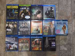 BLU-RAY movies - any two for $5