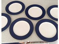 Set 6 pagnossin Italian dinner plates