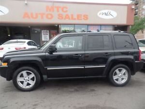 2010 Jeep Patriot Limited, 4WD, LEATHER, SUNROOF