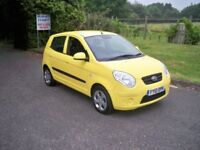 Kia Picanto 1.1 STRIKE SPECIAL EDITION LADY OWNER FULL SERVICE HISTORY AIR CONDITIONING 2010