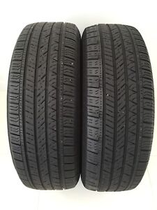 Two 225/65/R17 AllSeason Continental CrossContact -Lotsoftread