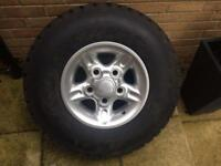 Land Rover Defender Spare Wheel