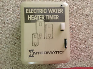 Timer for electric hot water tank