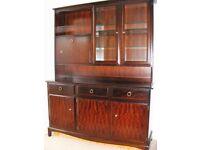 Stag Mahogany Dresser / Display Unit
