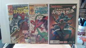 """Comics for  Sale:  A Lot of 24 """"Amazing Spider-Man"""""""