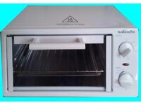Unused, Boxed like new, Sabichi Mini Oven + Grill with Timer Baking Tray and Grill Rack Clean Cooker