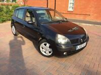 2002/02 Renault Clio 1.4 AUTOMATIC LOW MILLAGE 55K Bluetooth Air Con 1 years mot