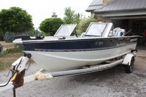 18 foot starcraft         SOLD