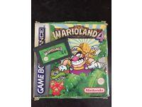Game boy advance game warioland 4