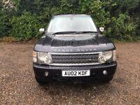 2002 Land Rover Range Rover HSE TD6 Auto Blue