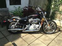 Harley Davidson Sportser - Factory Custom.
