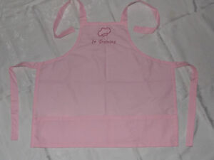 GIRL'S EMBROIDERED APRON