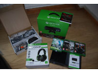 Microsoft Xbox One Gears of War Ultimate Edition 500GB Black Console & More