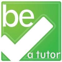 Looking for Math, English, French and Sciences tutors