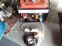 2.5kw generator 240/110v