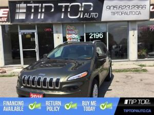2015 Jeep Cherokee North ** NO accidents, 4X4, Bluetooth, Backup