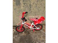 Children's Minnie Mouse bike